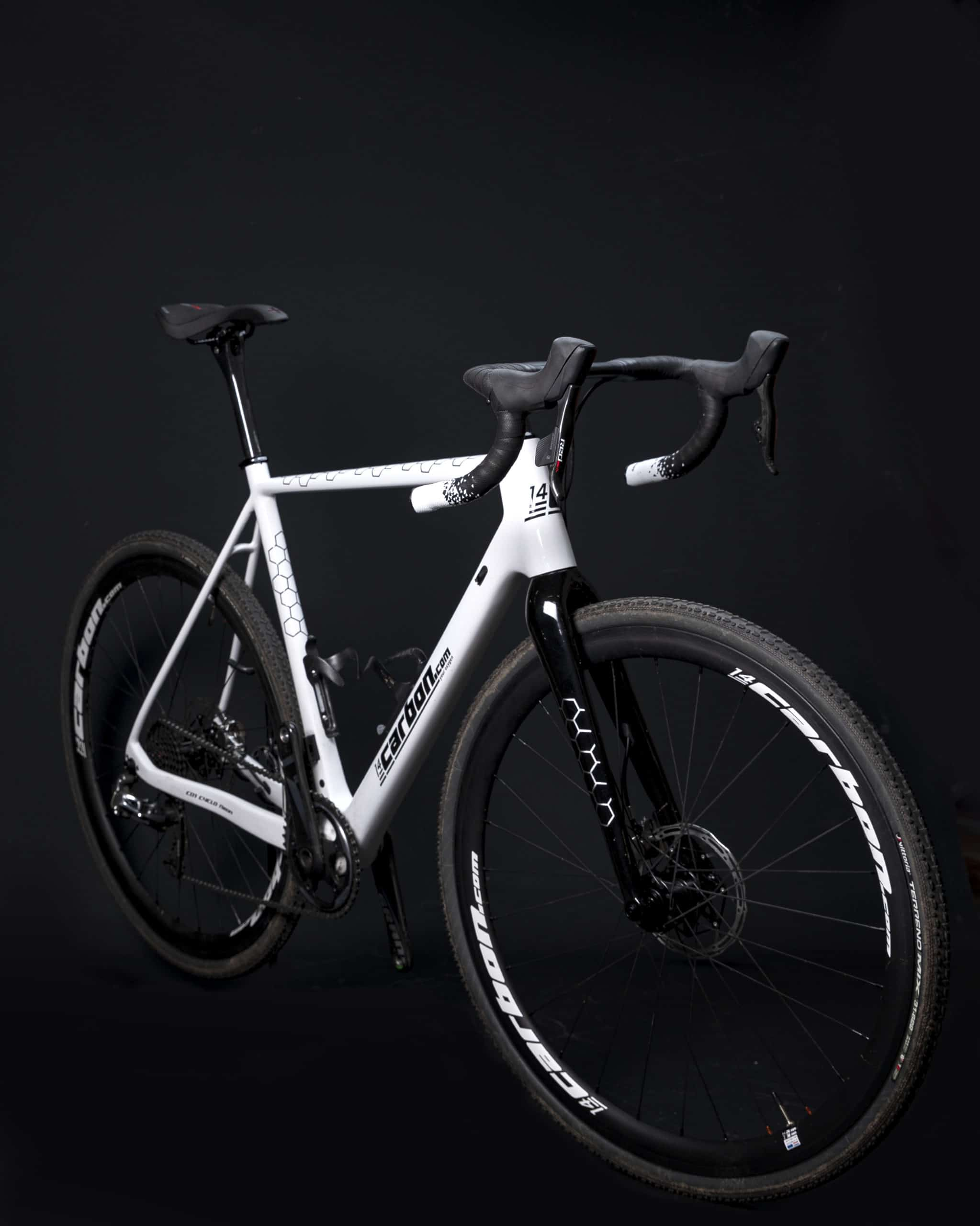 Light Gravelracer zwart wit - 14CARBON